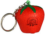 Strawberry Key Chain Stress Balls